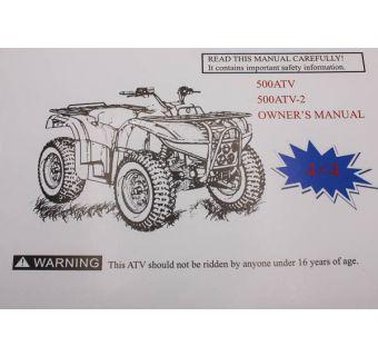 Instruktionsbok, Användarmanual (User Manual Engelska) - Viarelli GTX 550