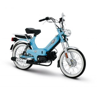 Tomos Classic XL Ljusblå 25km/h (klass 2 moped)