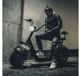 Harleyscooter X-Pro Fatboy 2-istuttava