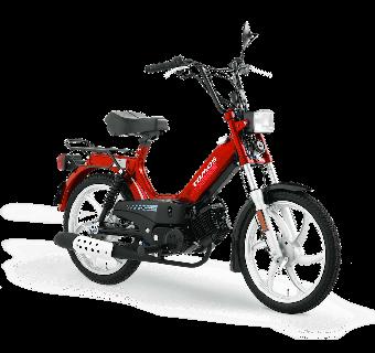 Tomos Standard XL Röd 25km/h (klass 2 moped)