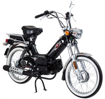 Tomos Classic XL Svart 25km/h (klass 2 moped)