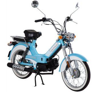 Tomos Roadie XL Blå/Vit 25km/h (klass 2 moped)