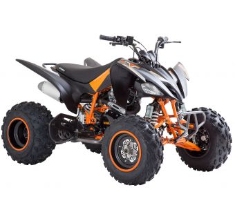 Viarelli Agrezza ATV 250cc mattamusta/oranssi