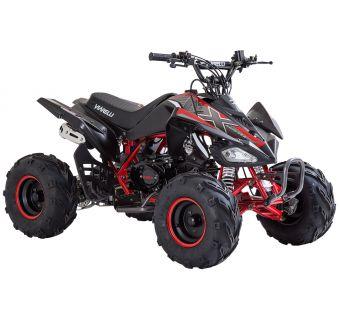 Viarelli Agrezza ATV 90cc mattamusta/punainen